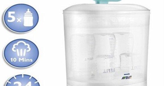 Mẹ cầu toàn cần bao nhiêu tiền để chọn mua máy tiệt trùng bình sữa cho con ?
