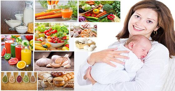 Mẹ nên ăn uống gì để lợi sữa, nhiều sữa cho con bú?
