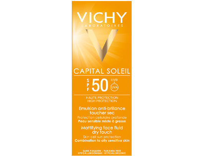 Kem chống nắng Vichy Capital Soleil SPF50 UVA+UVB