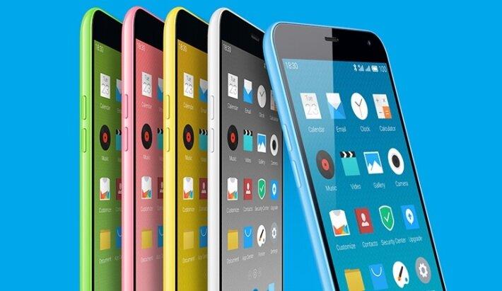 Meizu ra mắt phabet giá rẻ giống iPhone 5C