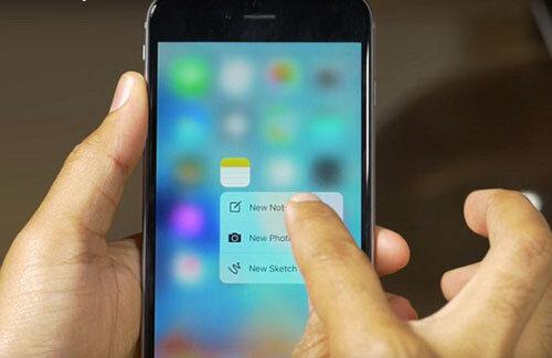 Mẹo trải nghiệm tính năng 3D Touch trên iPhone đời cũ