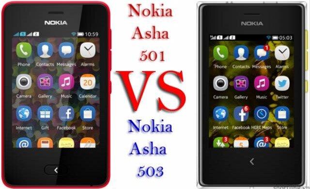 Asha 501 vs Asha 503