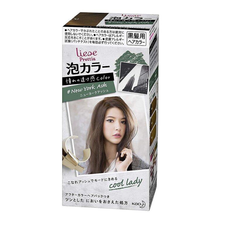 Thuốc nhuộm tóc của Nhật Liese Prettia Kao