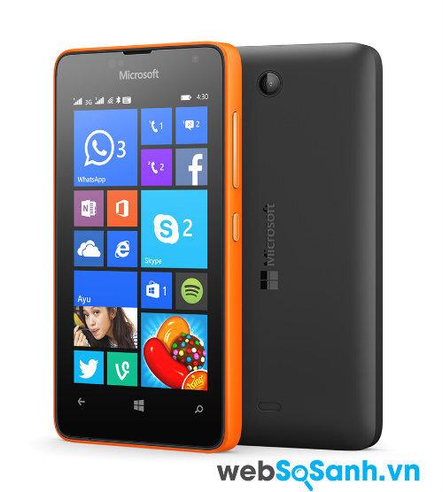 Microsoft công bố smartphone Lumia 430 rẻ nhất với giá 1,5 triệu đồng