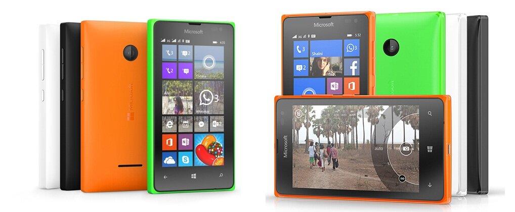 Microsoft Lumia 435 và Lumia 532 smartphone giá rẻ tấn công thị trường