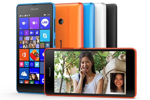 Microsoft trình làng smartphone giá rẻ Lumia 540 Dual SIM