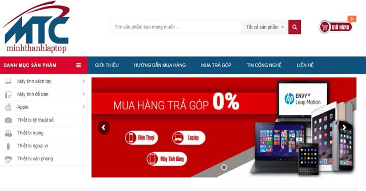 Minh Thành Laptop – địa chỉ mua laptop nhập khẩu uy tín tại Hà Nội
