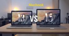 [Tư vấn] Chọn mua Macbook Pro 13 inch hay Macbook Pro 15 inch trong năm 2018