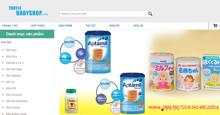 Thuylebabyshop.com – Chuyên cung cấp các loại sữa, đồ chơi đồ dùng chính hãng cho mẹ và bé