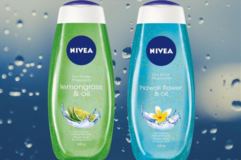 Sữa tắm Nivea hương hoa