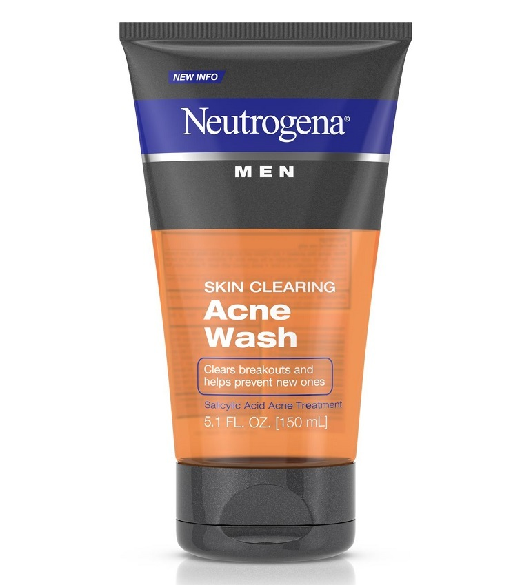Sữa rửa mặt trị mụn cho nam Neutrogena Men Skin Clearing Acne Wash