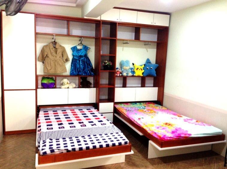 Giường trẻ em thông minh
