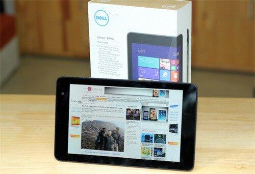 Mở hộp máy tính bảng Windows nhỏ gọn – Dell Venue 8 Pro