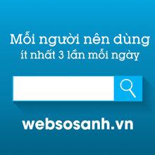 Mỗi người nên dùng Websosanh.vn ít nhất 3 lần mỗi ngày