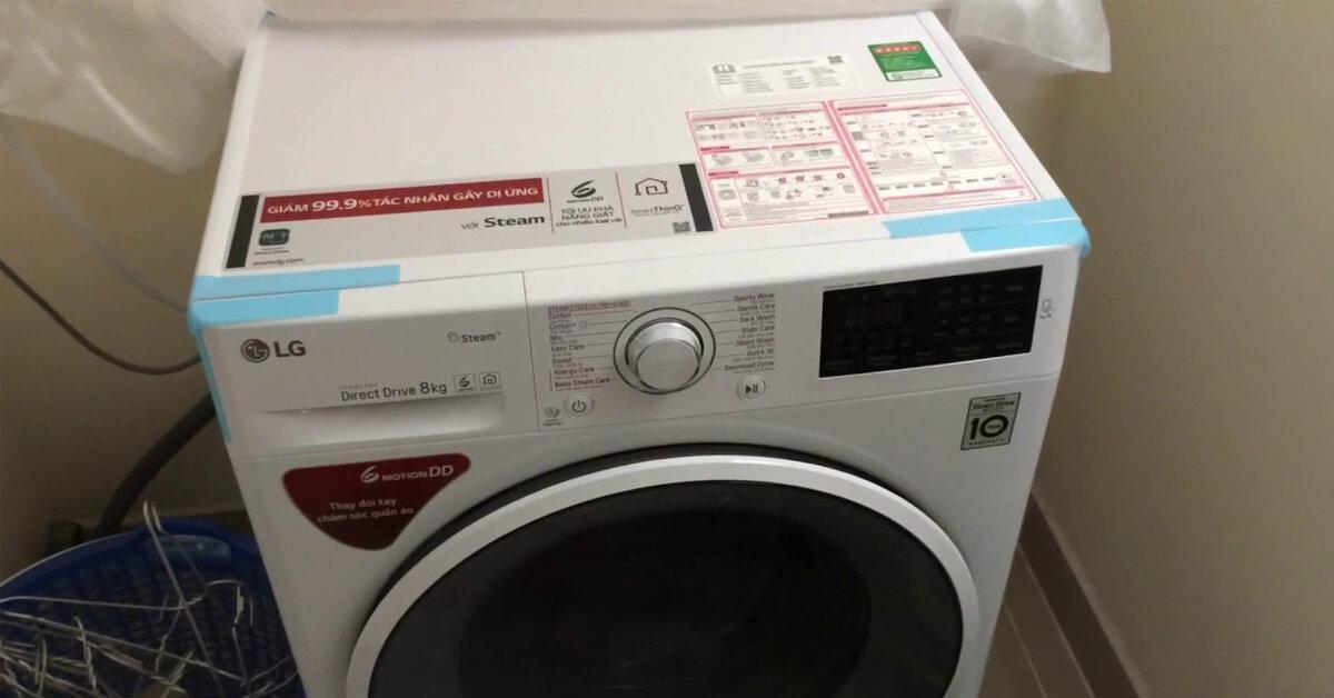 Một số lưu ý sử dụng máy giặt LG FC1408s4W2 tiết kiệm điện, nước và bền bỉ nhất