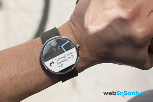 Moto 360 là smartwatch Android tốt nhất hiện nay