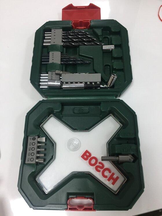 Mua bộ vặn vít và mũi khoan Bosch giá HỜI với chương trình SuperBrand2017 của Lazada