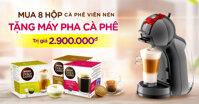 Mua cà phê viên nén tặng máy pha cà phê trị giá 2,9 triệu – Nên mua không ?