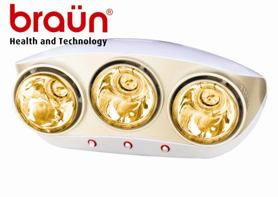 Mua đèn sưởi nhà tắm Braun loại nào tốt nhất?