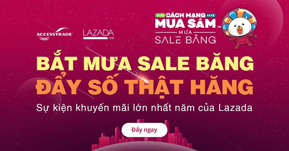 """Mua hàng giá sốc với cách mạng mua sắm 2017 """"Mưa sale băng"""" của Lazada"""