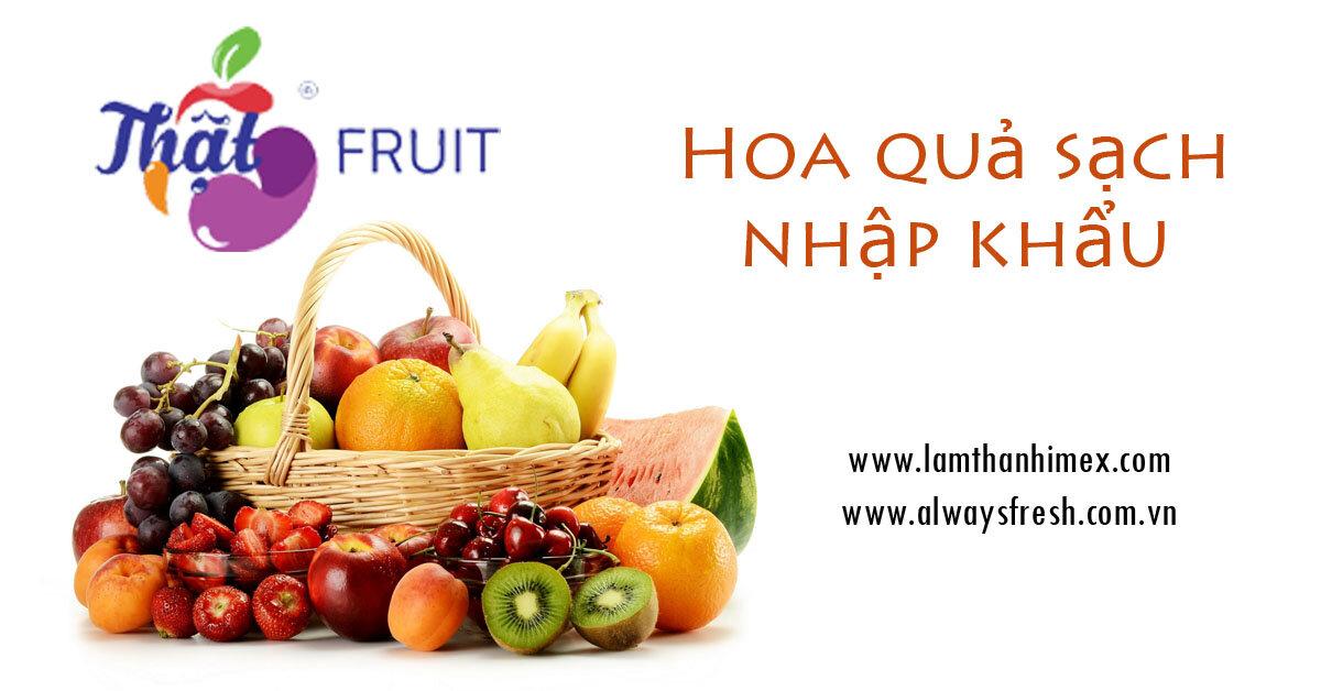 Mua hoa quả nhập khẩu sạch ở đâu tại Hà Nội?