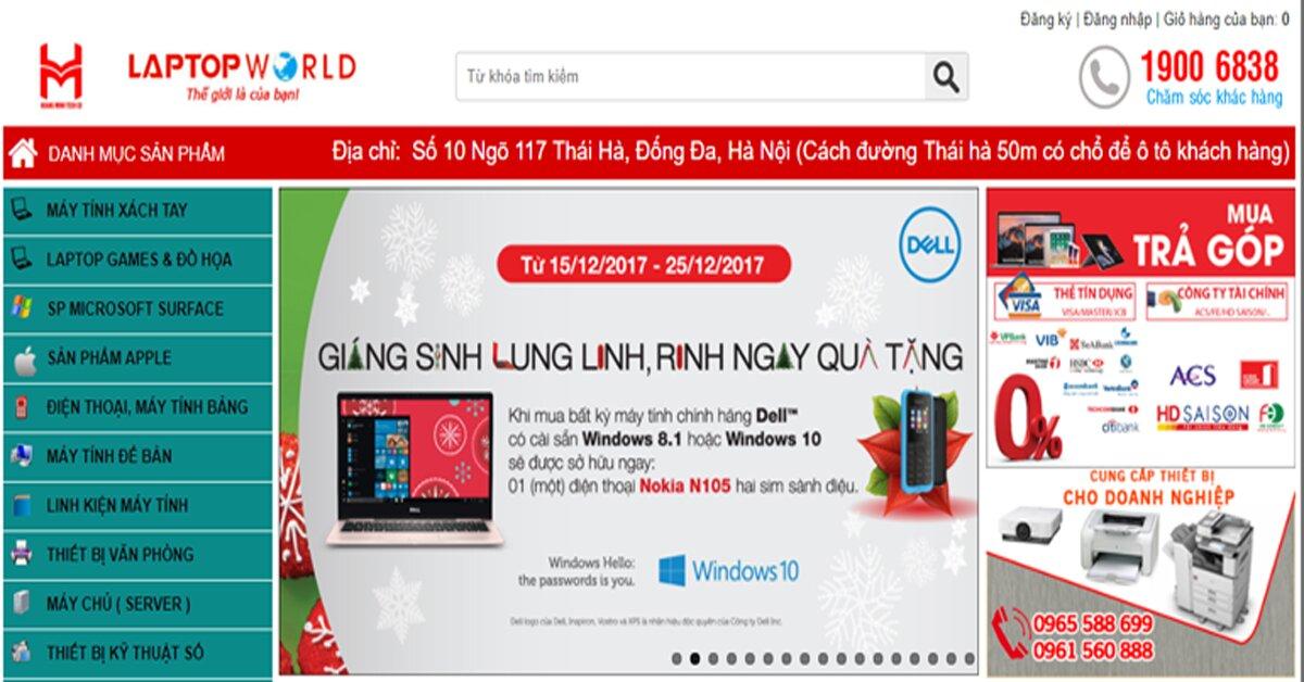 Mua laptop, máy tính xách tay ở đâu chất lượng, giá rẻ tại Hà Nội
