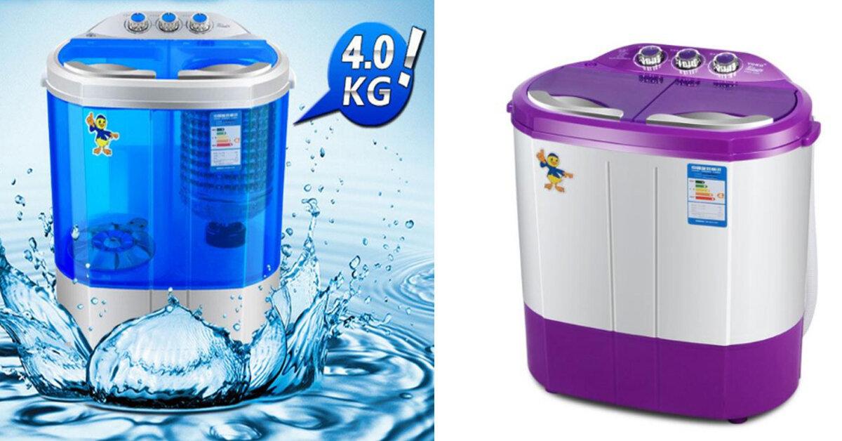 Mua máy giặt mini 2 lồng giặt kiêm chế độ vắt nhanh cho bé – NÊN hay KHÔNG ?