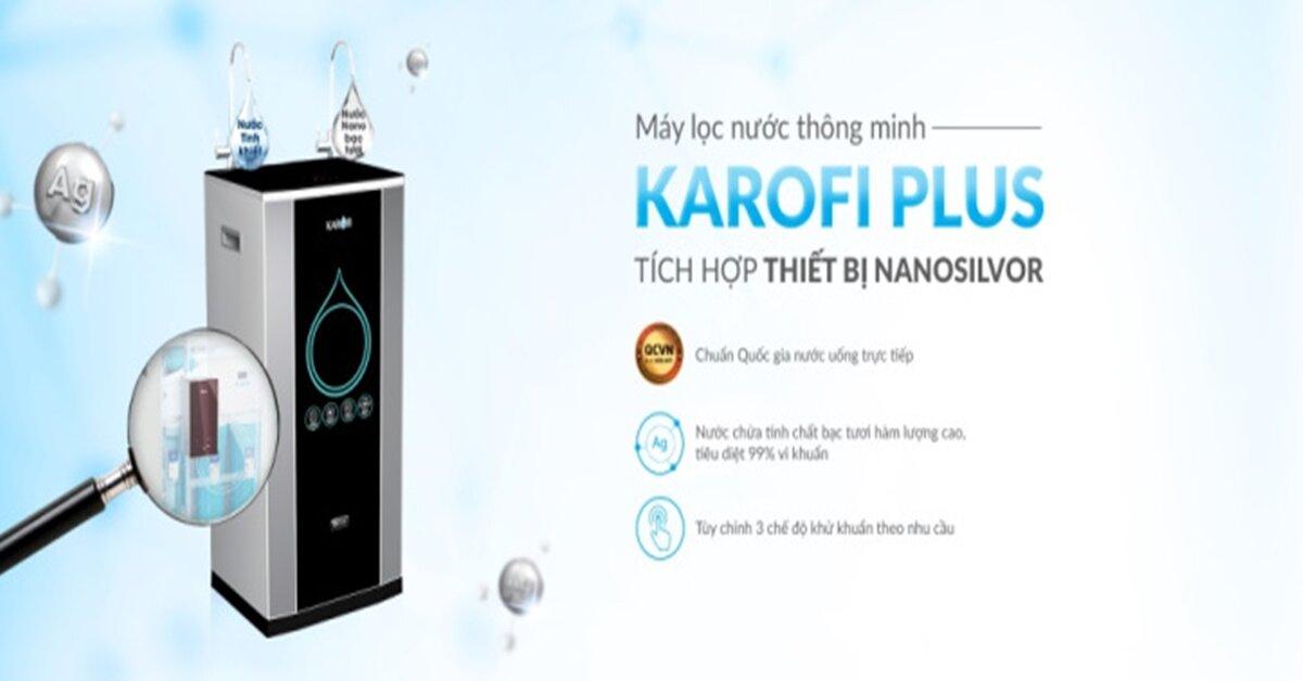Mua máy lọc nước Karofi chính hãng ở đâu ?