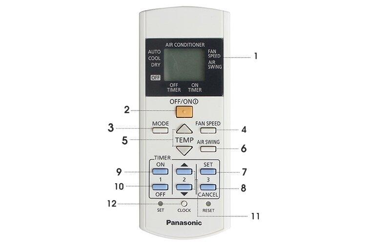 Mua remote điều khiển điều hòa Panasonic chính hãng ở đâu giá rẻ?