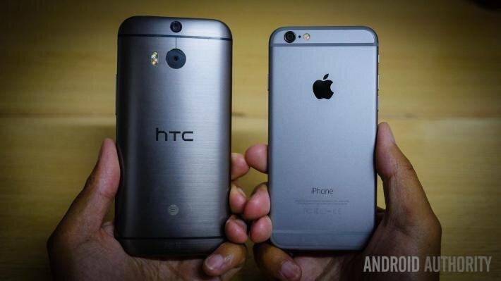 Mua smartphone khẳng định đẳng cấp – Chọn HTC One M8 hay iPhone 6?