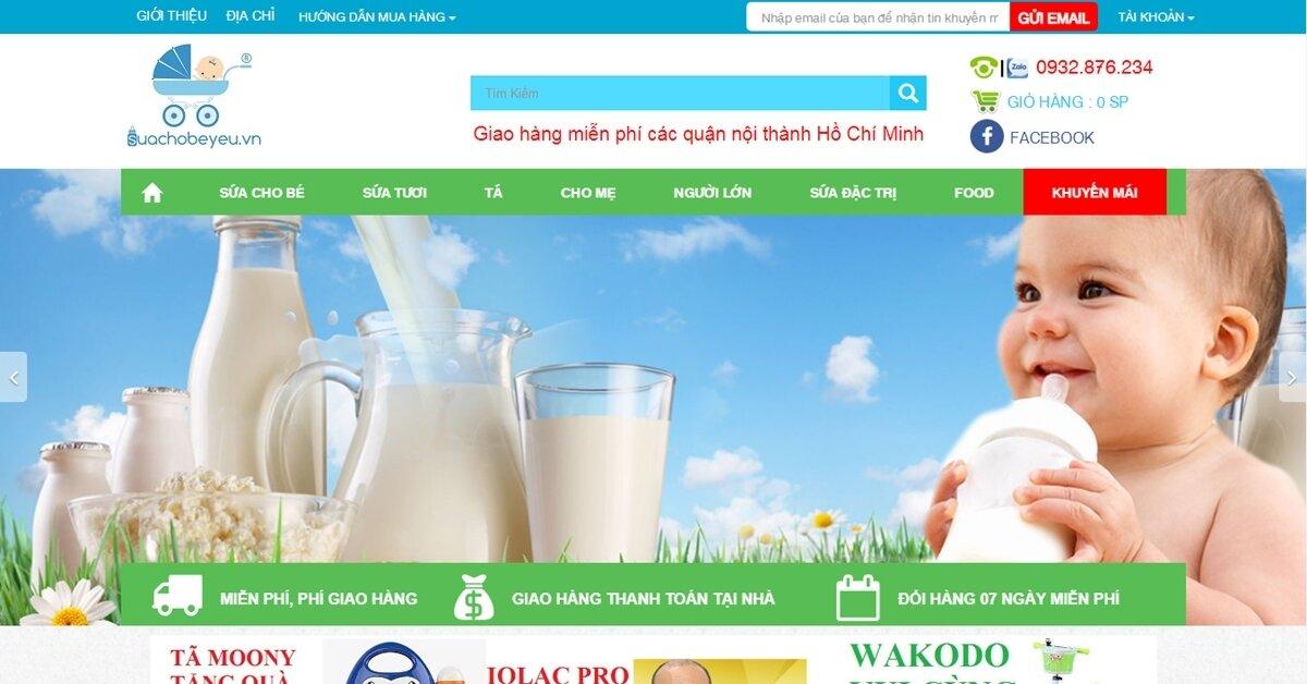 Mua sữa công thức và sữa tươi chính hãng, chất lượng cho bé yêu ở đâu?