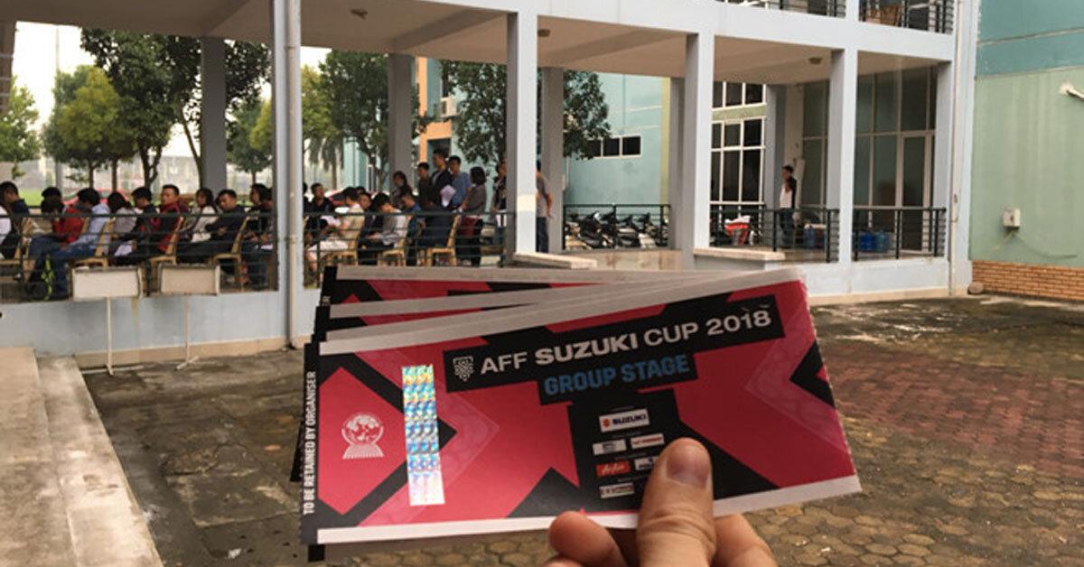 Mua vé bóng đá online AFF Cup 2018 khó nhưng không phải là không thể nếu bạn biết những điều sau