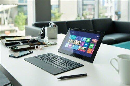 Mục sở thị chiếc laptop mỏng 9,9 mm – VAIO Tap 11 mới