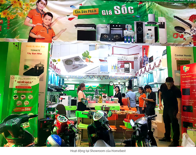 Homebest cung cấp bếp từ chính hãng chất lượng giá rẻ