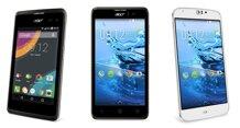 MWC 2015: Acer và Archos tung loạt smartphone màn hình lớn, giá rẻ