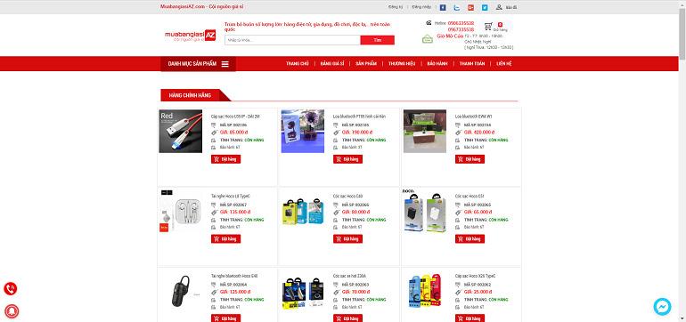 Muabangiasiaz.com - Nơi kinh doanh Hàng chính hãng giá sỉ tại TpHCM