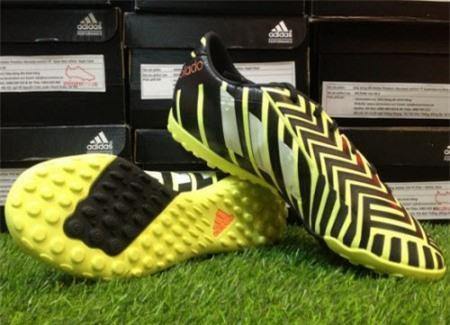 Adidas Predator Absolado Instinct TF Light Flash Yellow- White- Dark Grey