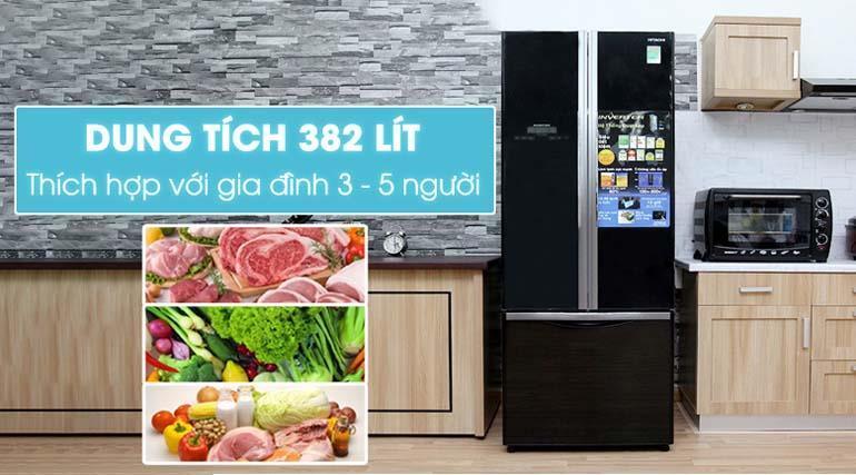 Tủ lạnh Hitachi ngăn đá dưới