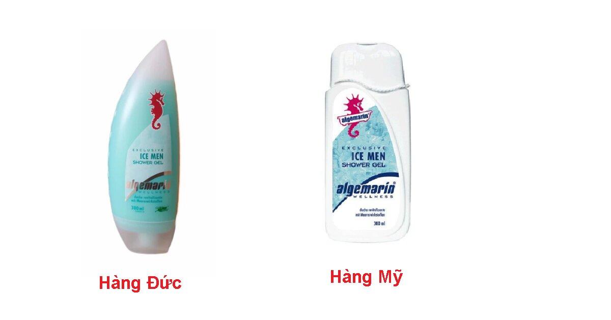 Review sữa tắm cá ngựa Đức cho nam Algemarin Ice Men Shower Gel: làm sạch sâu đem lại tinh thần sảng khoái