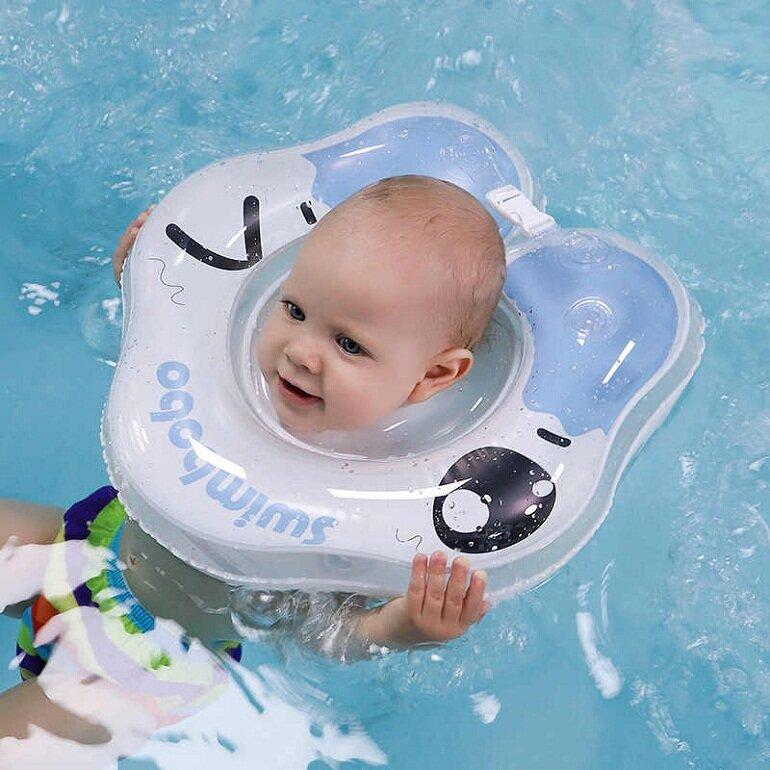 Phao bơi đỡ cổ cho bé sơ sinh