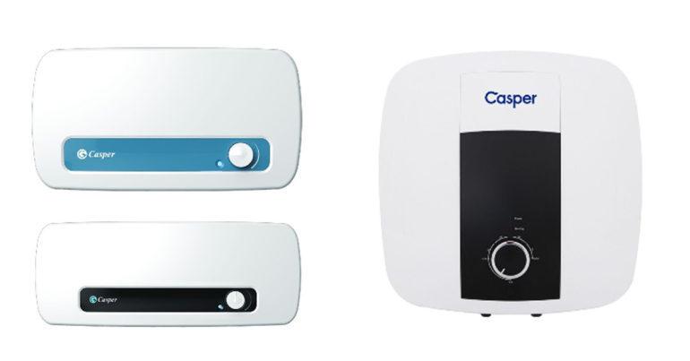 5 lý do bạn nên mua bình nóng lạnh Casper