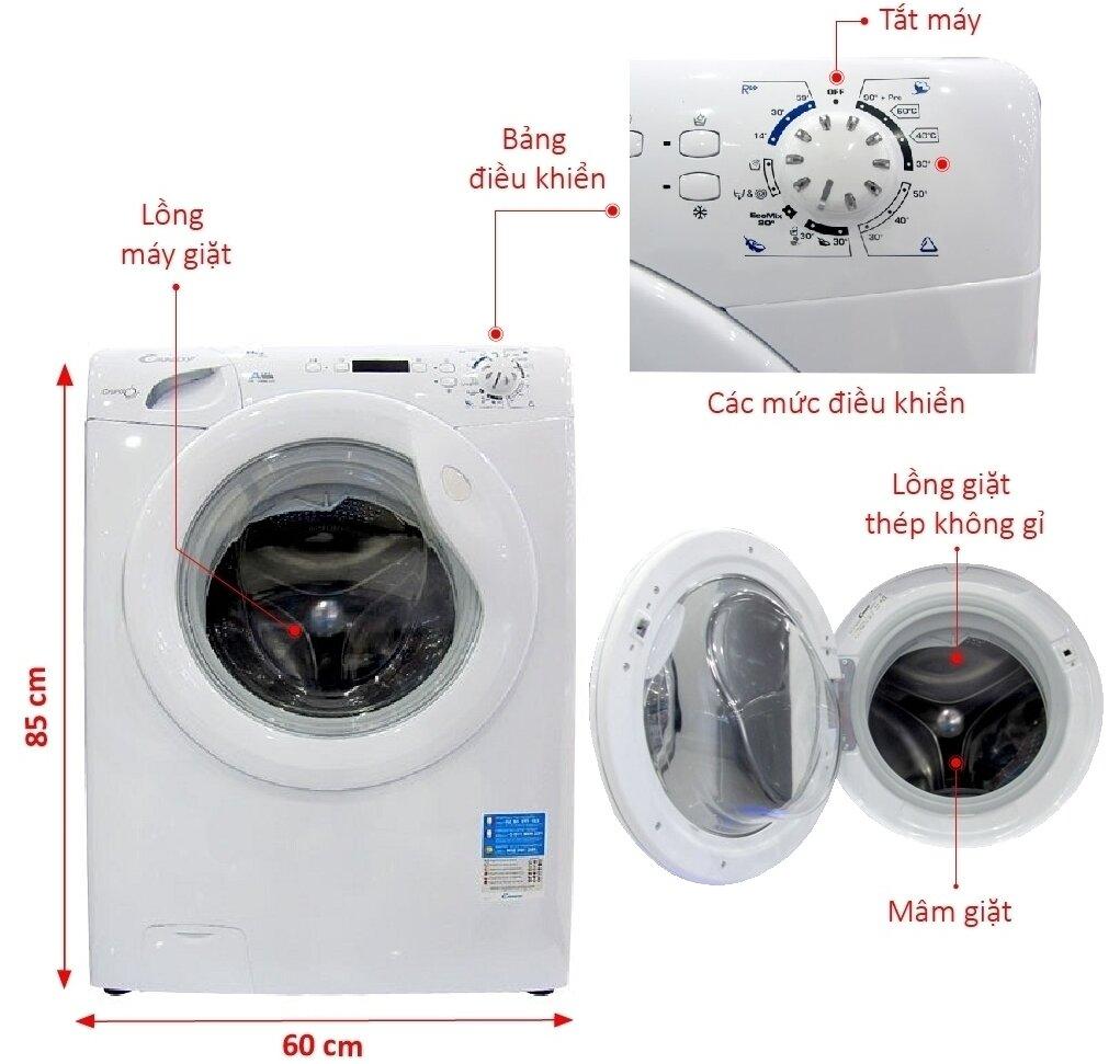 bảo hành máy giặt Candy miễn phí