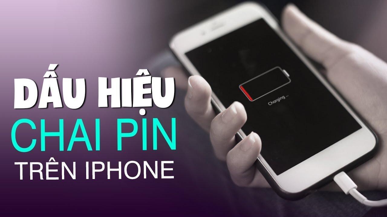Chai pin trên iPhone có dấu hiệu riêng bạn nên lưu ý