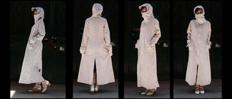 áo chống nắng toàn thân vải lanh