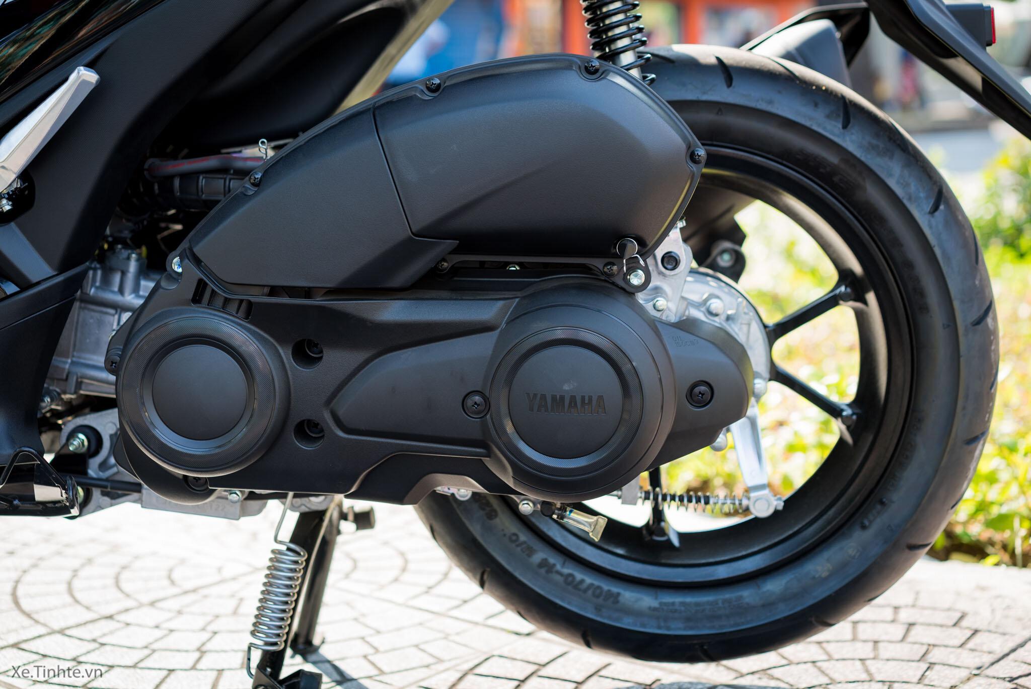 Yamaha NVX 125 trang bị công nghệ an toàn từ phanh và lốp thế hệ mới