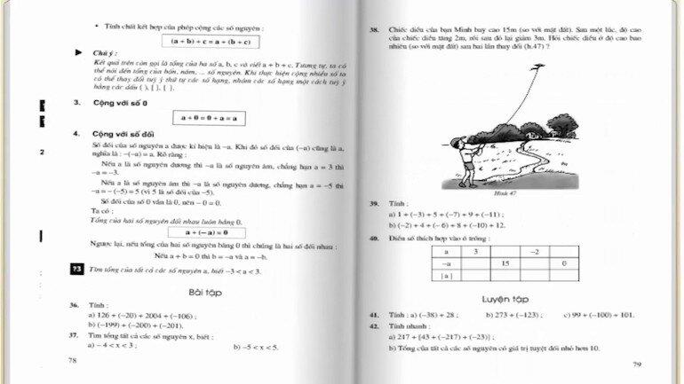 Bám sát vào chương trình kiến thức của sách giáo khoa lớp 6 tập 1