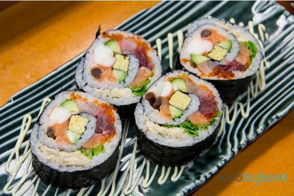 dụng cụ làm sushi
