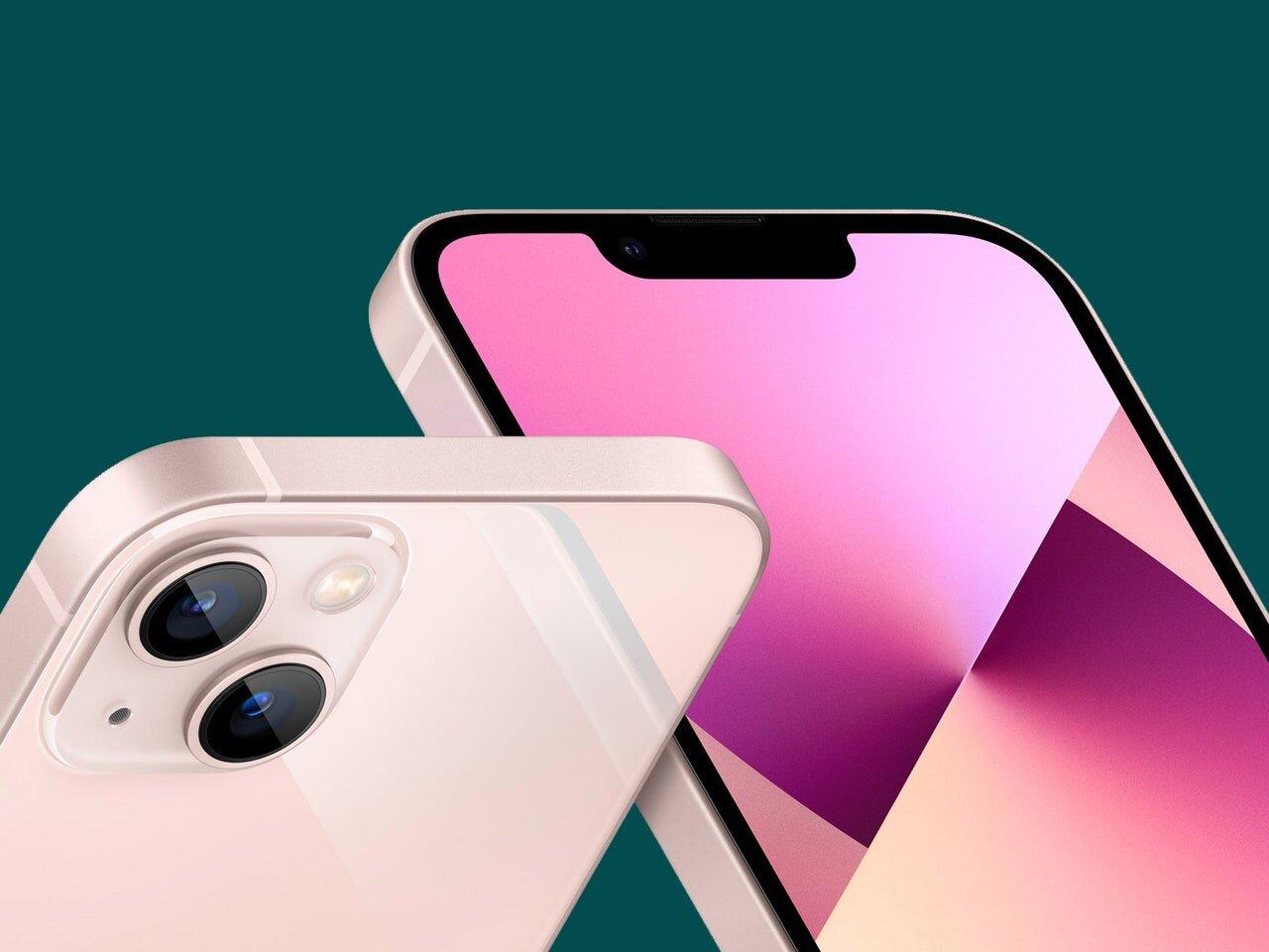 Iphone 13 mini màu hồng