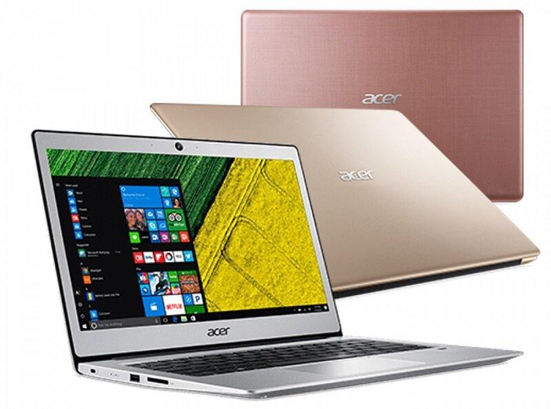 Với mức giá tầm trung, bạn hoàn toàn có cơ hội sở hữu một chiếc laptop mỏng nhẹ, sang trọng từ Acer