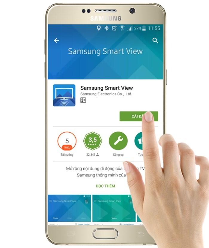 các ứng dụng điều khiển tivi qua smartphone